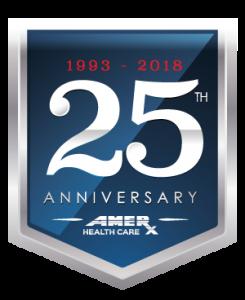 AMERX Celebrates 25 Years (1993-2018)