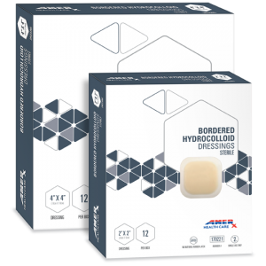 AMERX® Bordered Hydrocolloid Dressings