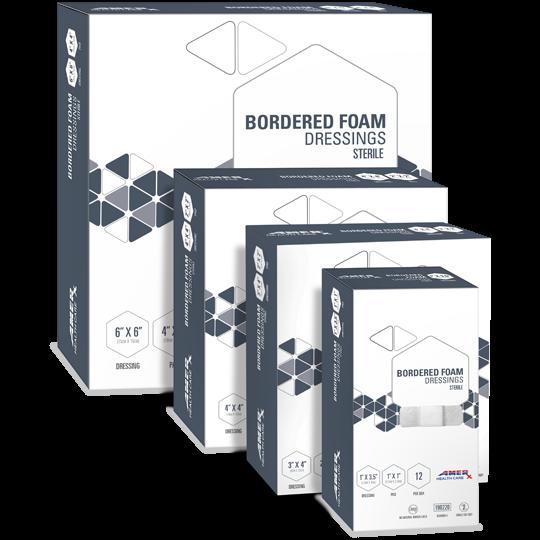 AMERX® Bordered Foam Dressings
